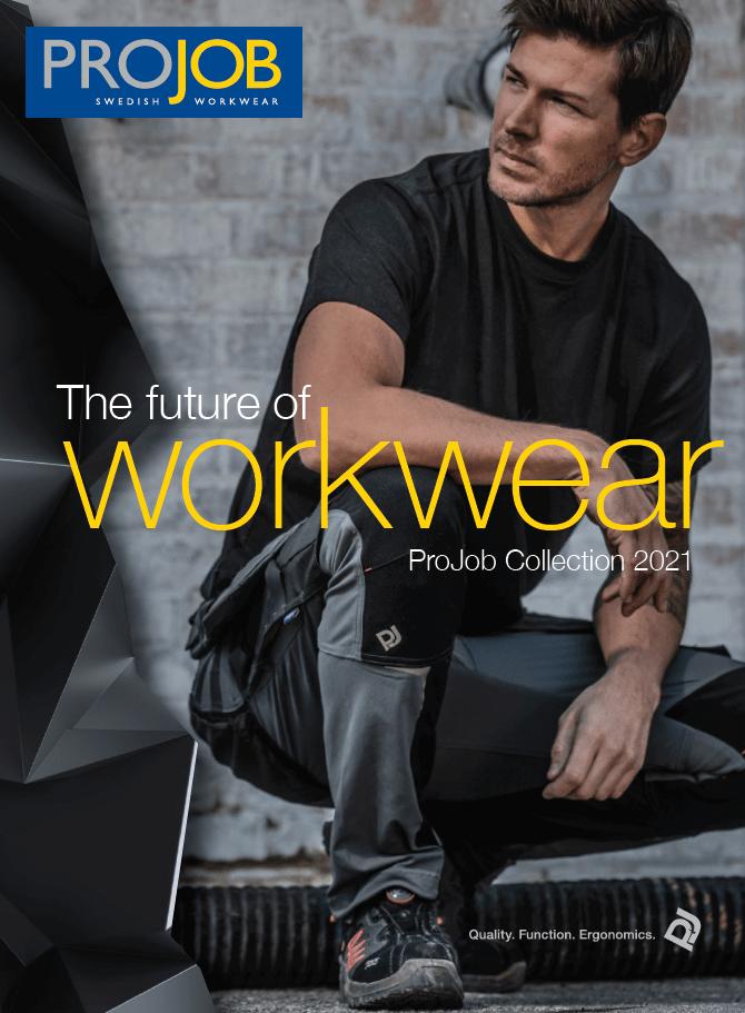 Titelbild des Prospektes workwear